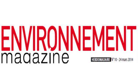 Environnement magazine mai 2014