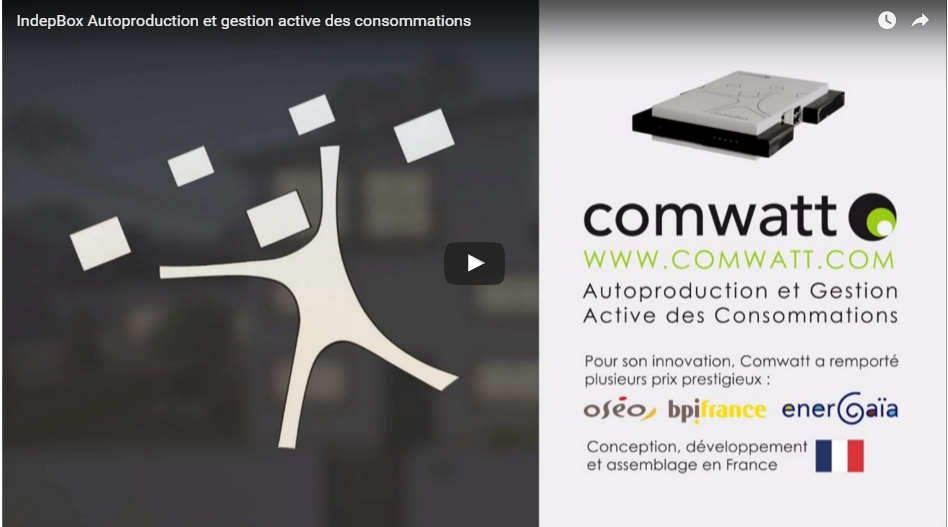 IndepBox Autoproduction et gestion active des consommations