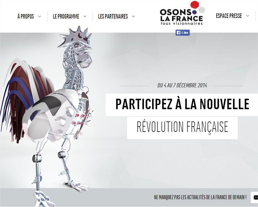 Osons la révolution au Grand Palais, tous producteurs d'énergie avec Comwatt le 5/12/14
