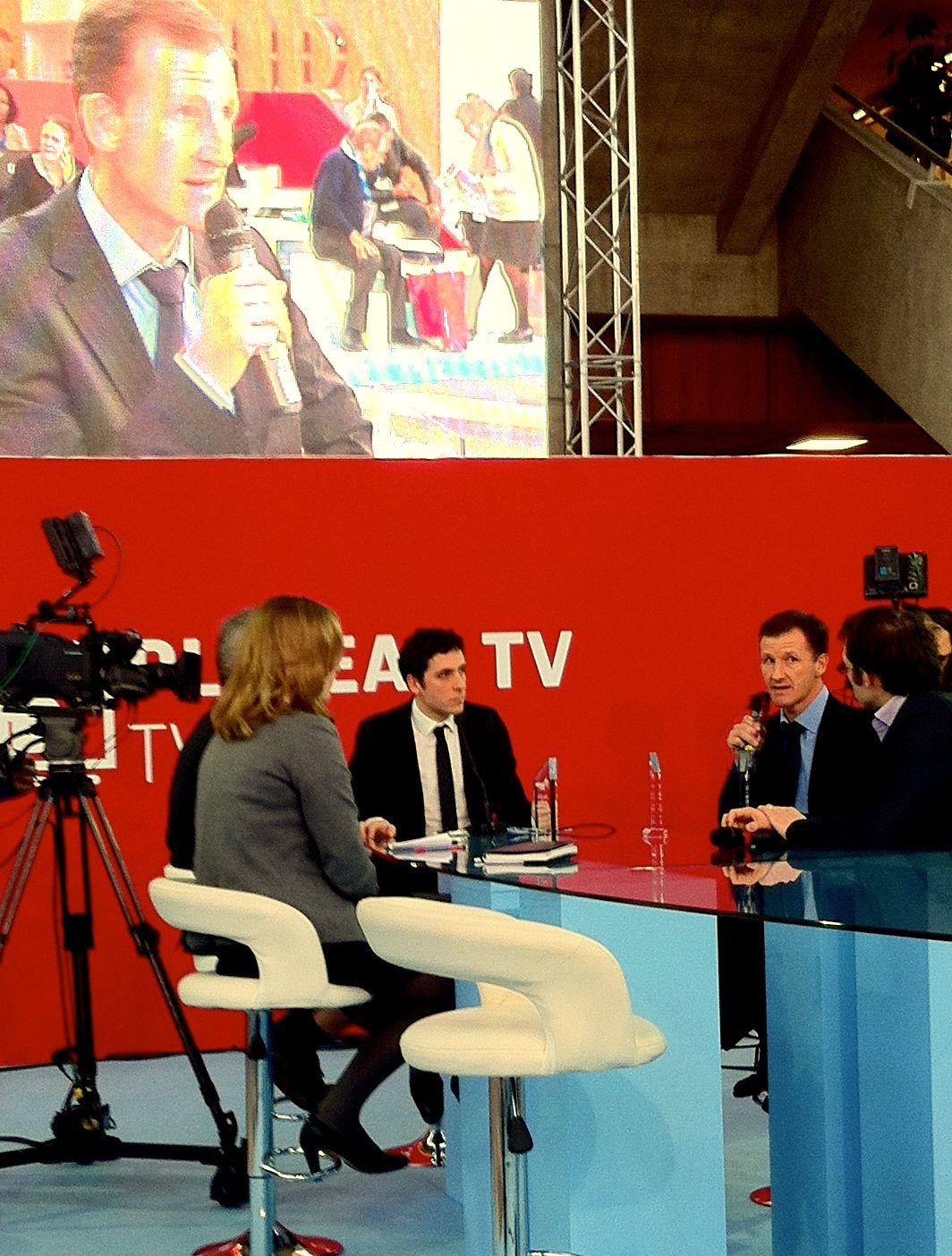 Plateau TV : Remise du prix de l'innovation Cleantech à Comwatt au salon Pollutec par Cleantech republic