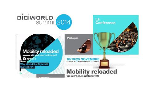 Digiworld 2014 International digital trophy