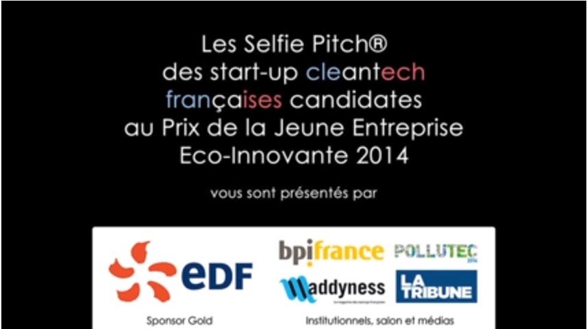 Comwatt startup selfie pitch