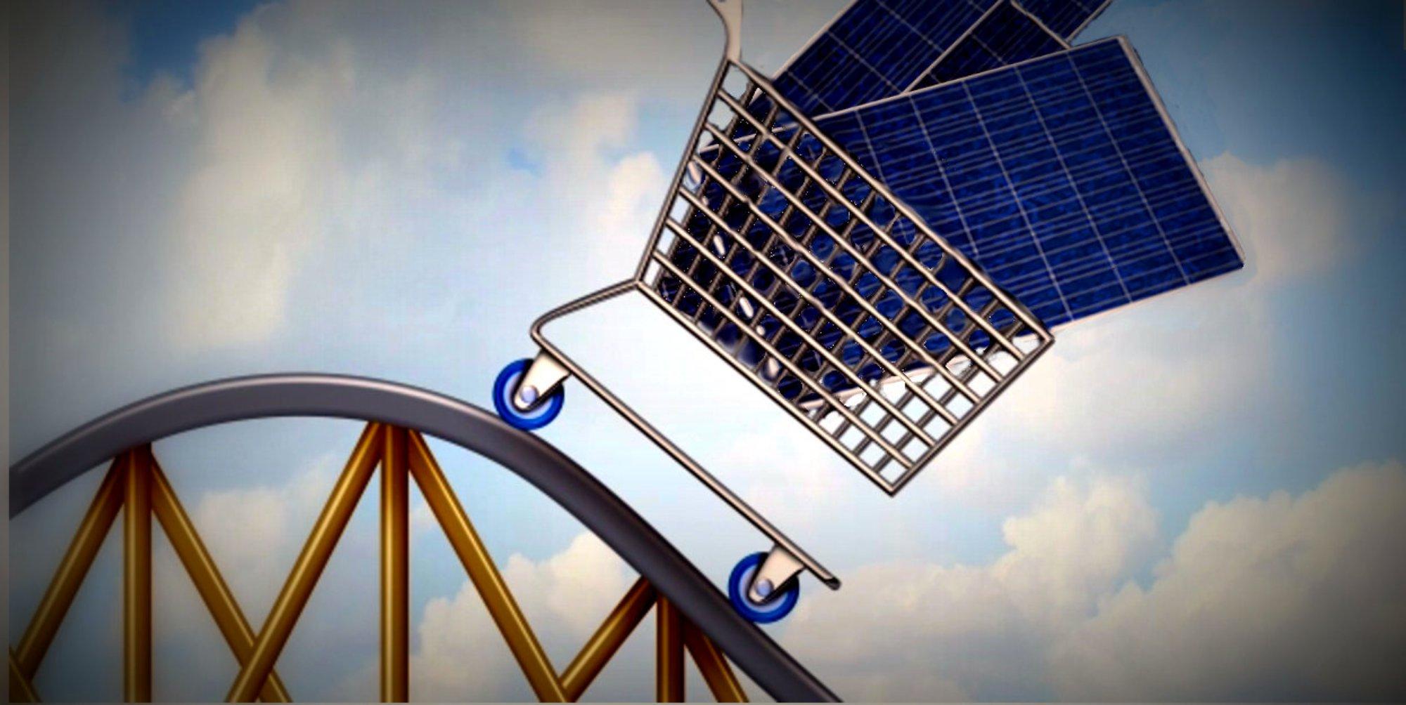 Depuis 40 ans le solaire baisse de 12% par an et ce n'est que le début