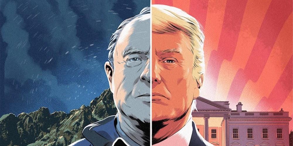 Yvon Chouinard et Donald Trump, deux projets pour le monde, lequel choisissez vous ?