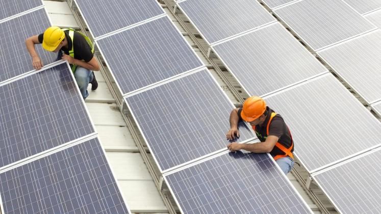 Emploi dans le solaire