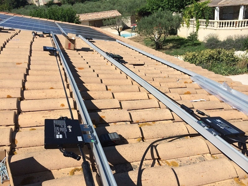 Installation photovoltaïque avec micro-onduleurs