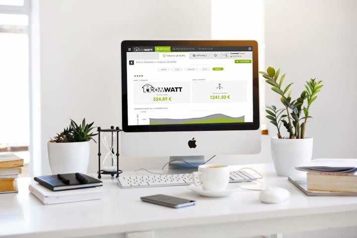 Comwatt Suivi en temps réel de vos économies d'énergie