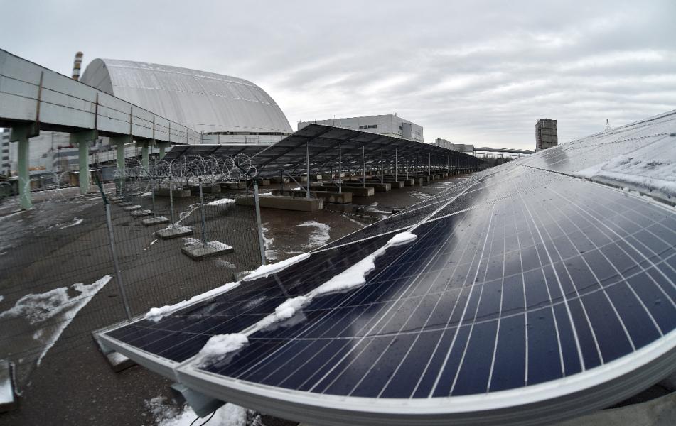 Tchernobyl transformé en centrale solaire 30 ans après la catastrophe nucléaire